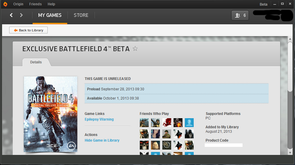, Origin Schedules Battlefield 4 Beta for October 1 [Update: September 30 in North America], MP1st, MP1st