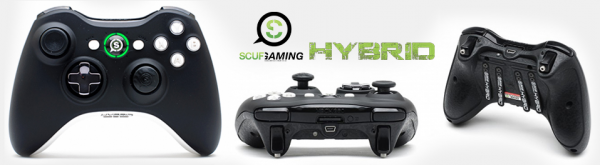 , SCUF Hybrid Xbox 360 Controller Review, MP1st, MP1st