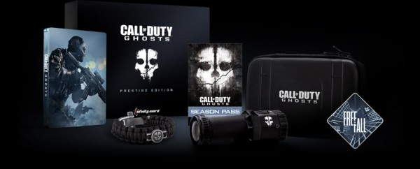 , Call of Duty: Ghosts Hardened Edition, Prestige Edition, and Season Pass Officially Detailed, MP1st, MP1st