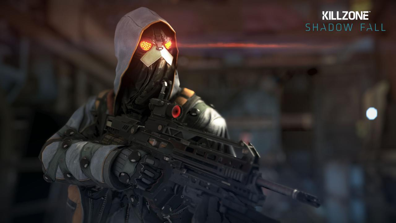 Killzone Shadow Fall Helghast Infantry HD desktop wallpaper