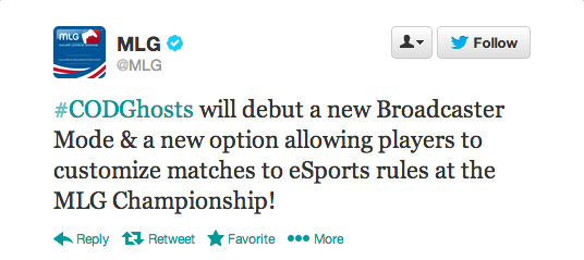 , Call of Duty: Ghosts – Infinity Ward to Debut Broadcaster Mode and eSports Settings November 22, MP1st, MP1st