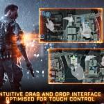 Battlefield touch control
