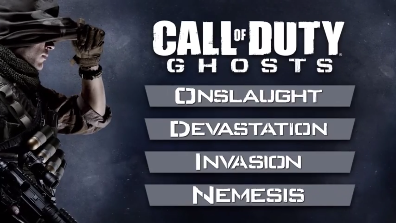 Call Of Duty Ghosts Extinction Map Packs on