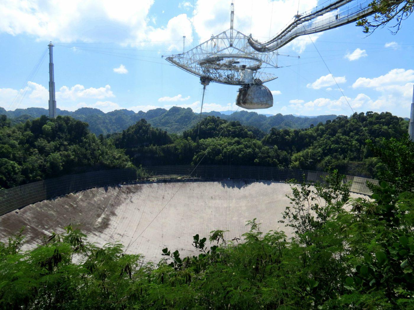 Rogue Transmission Arecibo Observatory