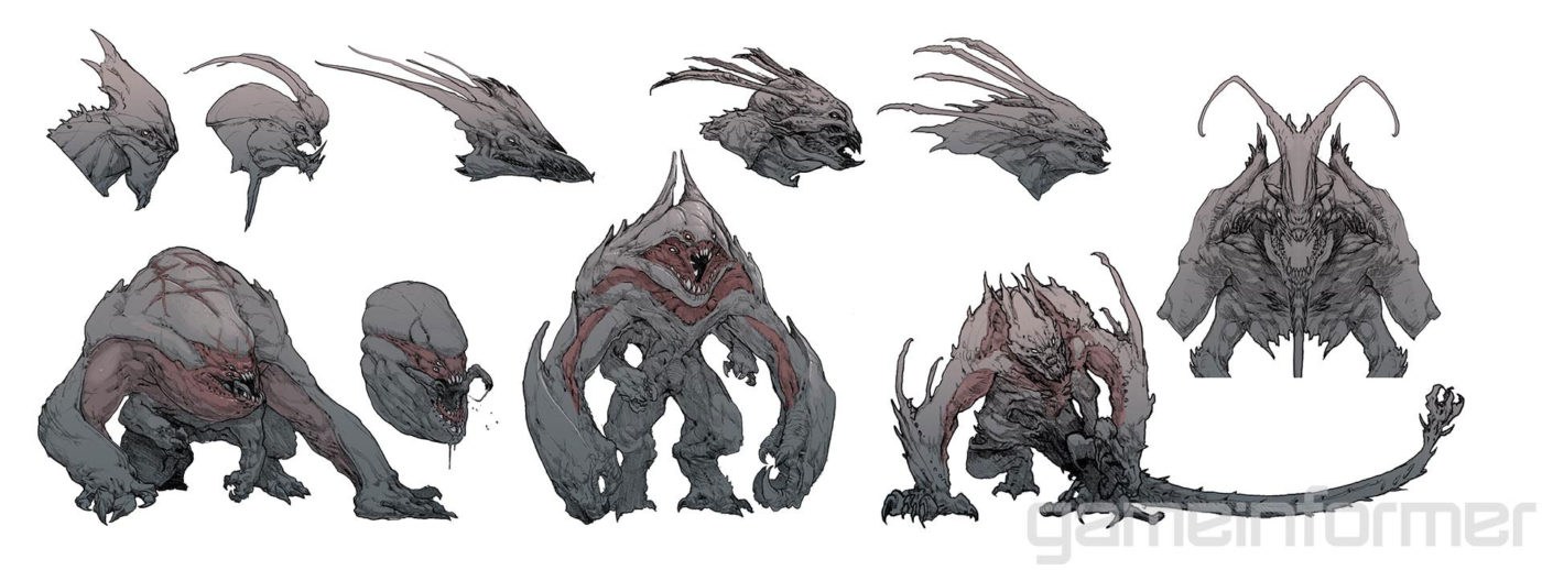 Evolve First In Game Images And Concept Art Of The Goliath Surface MP1st