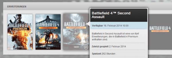 , Rumor – Origin Germany Puts Second Assault at a February 18 Release Date For BF4 Premium Members, MP1st, MP1st