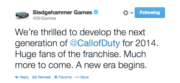 , Your Next Call of Duty Developer is Sledgehammer Games, MP1st, MP1st