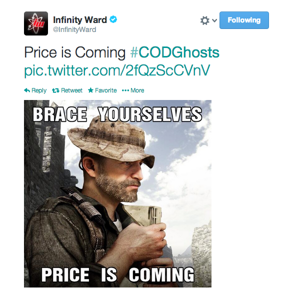 ", Call of Duty: Ghosts – ""Price is Coming"", Says Infinity Ward, M4 Carbine Returns? [Updated], MP1st, MP1st"