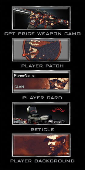 New Call of Duty: Ghosts Personalization Packs Include Captain Price