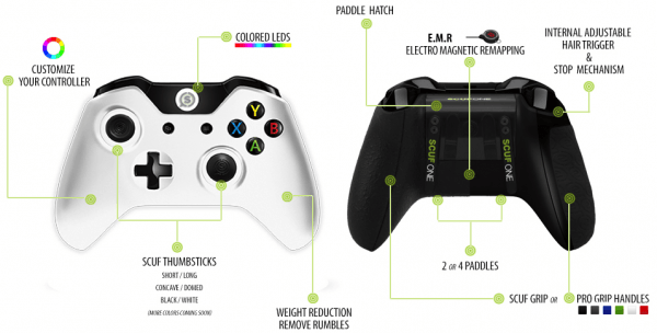 """, Scuf Gaming Introduces the """"SCUFONE"""" Xbox One Controller, MP1st, MP1st"""