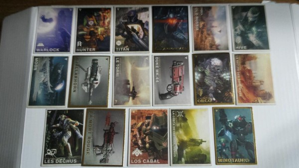 , Destiny Trading Cards Unlock Mysterious In-Game Content, MP1st, MP1st