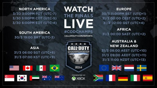 , The Call of Duty Championship Finals Begin Today – Where and When to Watch, MP1st, MP1st