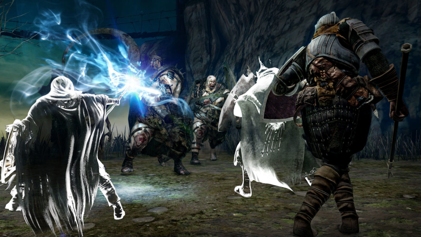 Dark souls 2 trading items with other players