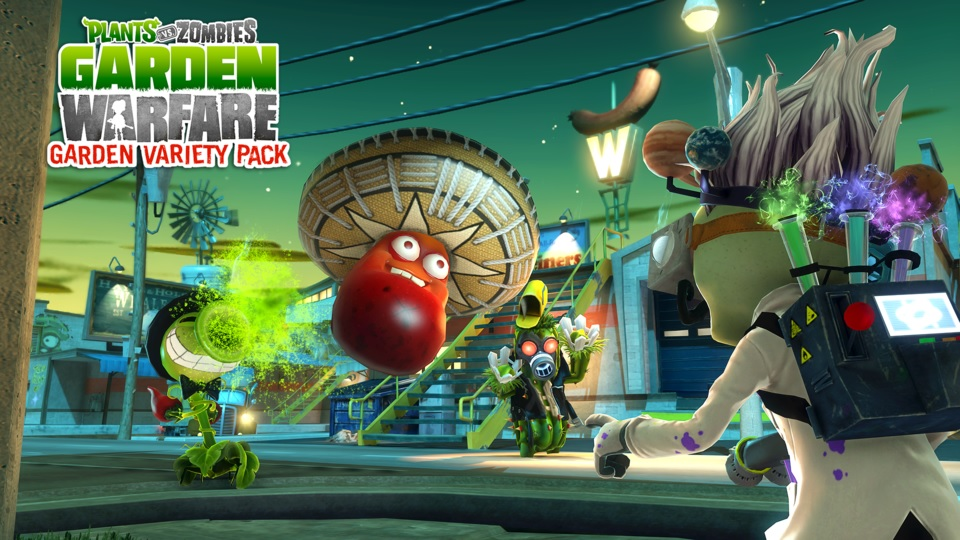 Plants vs zombies garden warfare garden variety dlc review