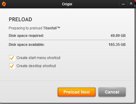 , Preload Titanfall on Origin Now, MP1st, MP1st