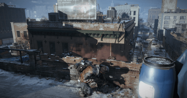 , New The Division Screen Puts This Agent in a Tight Spot, MP1st, MP1st