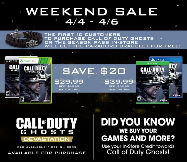 Call of Duty Sale