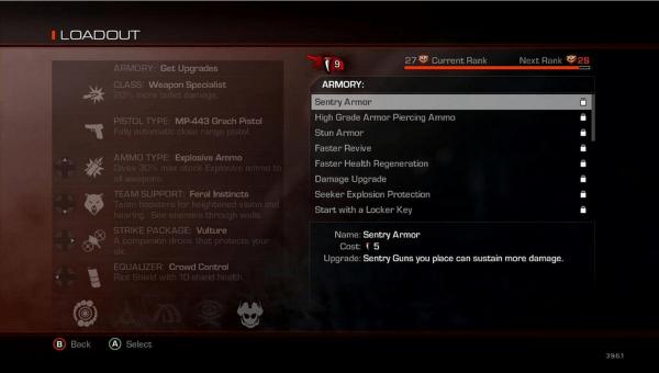Call of Duty Ghosts Teeth System