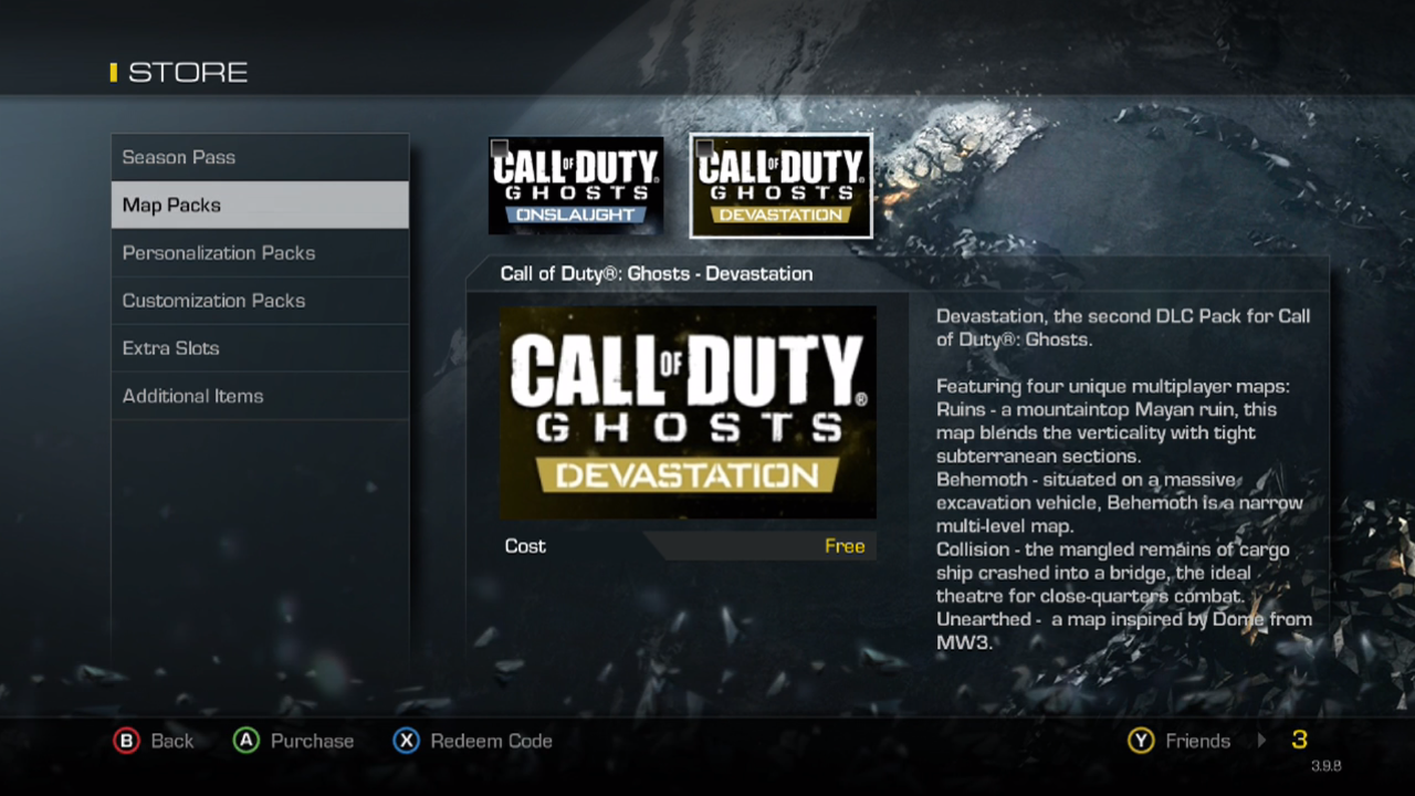 Call Of Duty Ghosts Devastation Dlc Now Live On Xbox One And Xbox 360 Mp1st