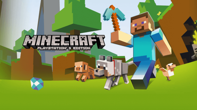 Minecraft Ps4 Ps3 And Ps Vita Editions Also Coming August