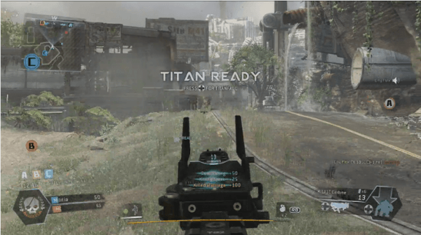 , Titanfall Xbox 360 and Xbox One Screen Comparison, First Look At Titanfall on 360, MP1st, MP1st