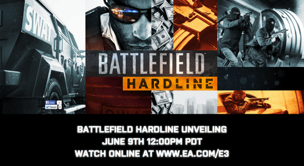 , EA Launches Official Battlefield Hardline Website, Unveiling on June 9, Launches Fall, MP1st, MP1st