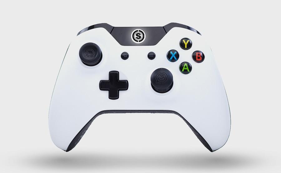 Xbox one controller scuf infinity camo arctic.
