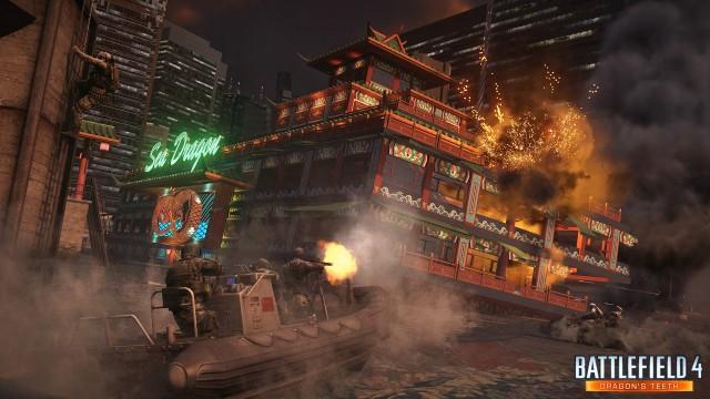 "New Screen Of Battlefield 4 Dragon's Teeth DLC's ""Sunken"