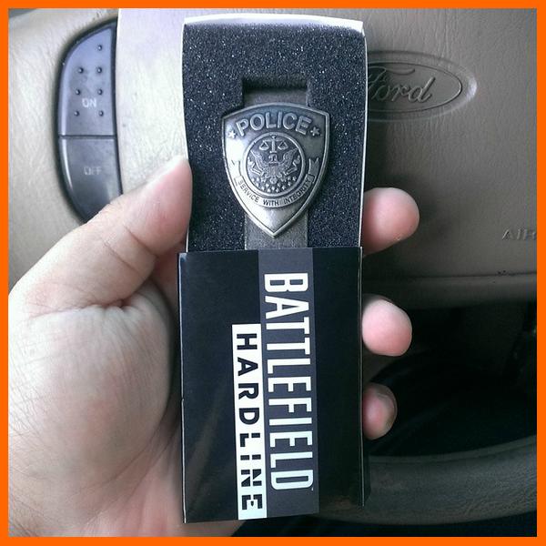, Report – Battlefield Hardline GameStop Pre-Order Bonus Is a Real Life Police Badge, MP1st, MP1st