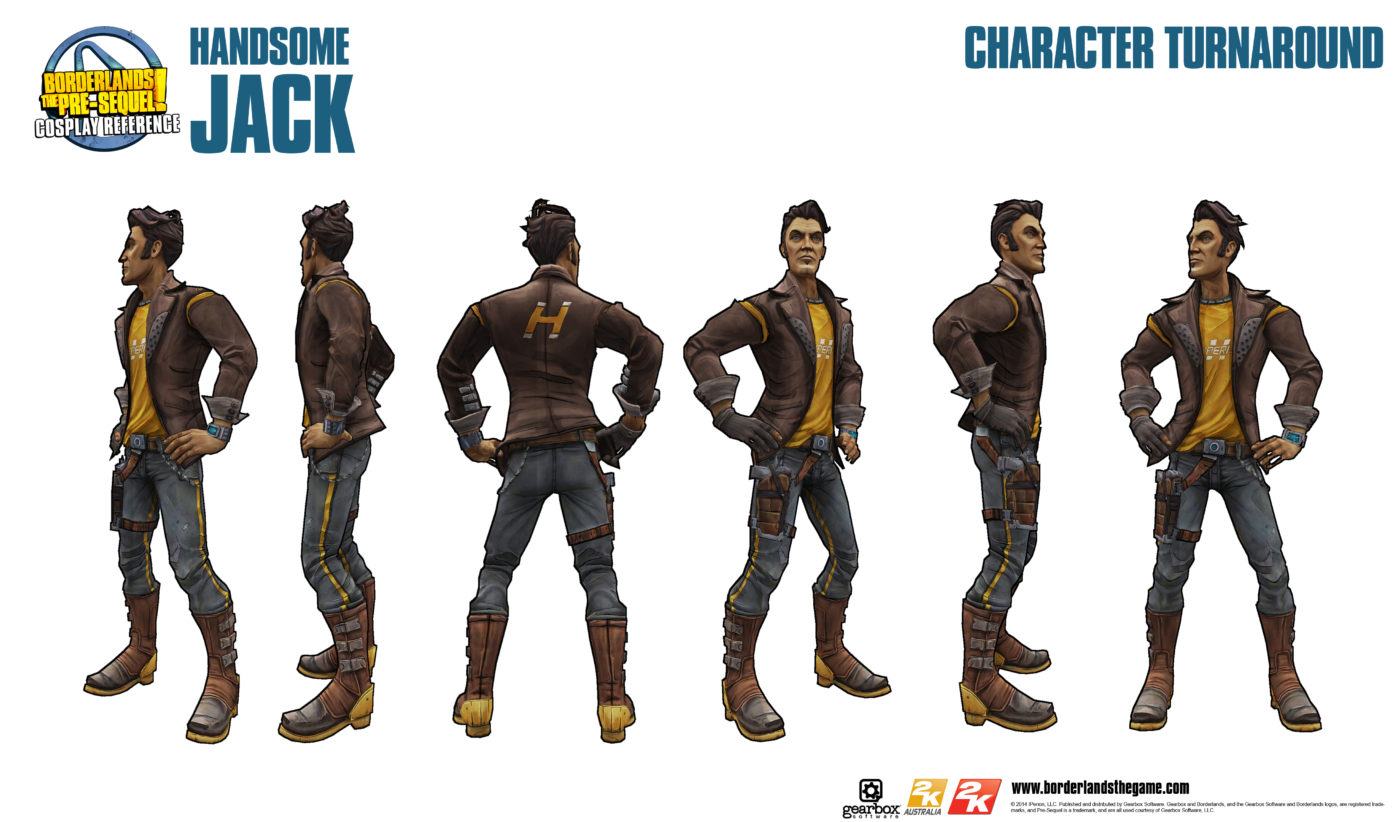 Get A First Look At Handsome Jack In Borderlands The Pre