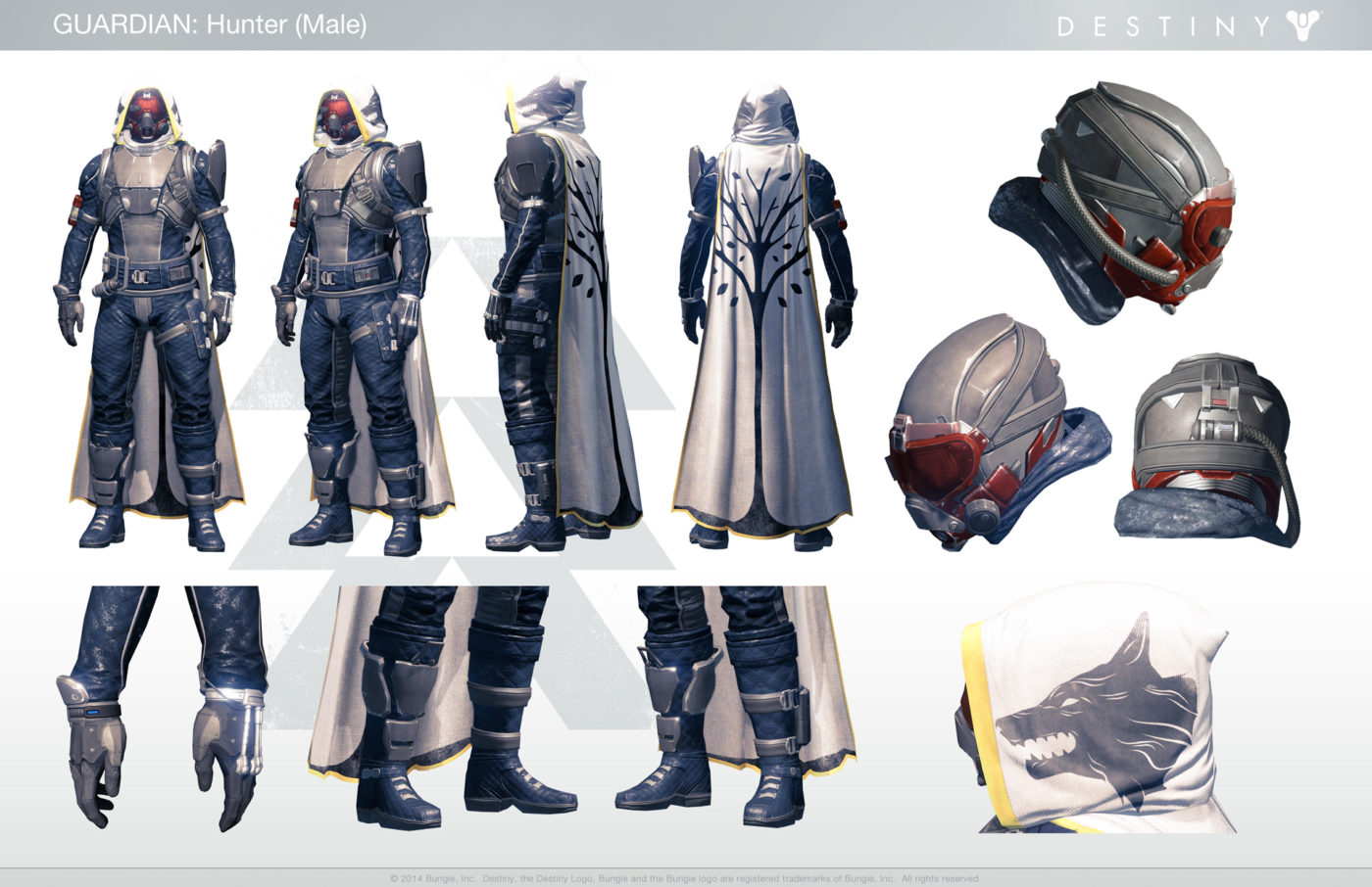 Destiny Hunter Costume Dress Up As Your Favorite Guardian With This