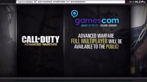 Advanced Warfare Multiplayer Will Be Playable at Gamescom 2014, Gameplay Puts Emphasis on Speed and Skill