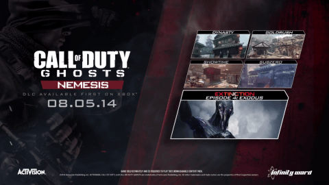 Call of Duty: Ghosts Nemesis DLC Heads to PlayStation and PC Early September