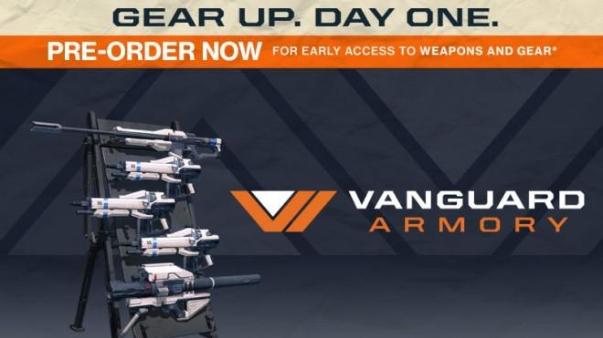 destiny vanguard armory preorder bonus trailer mp1st