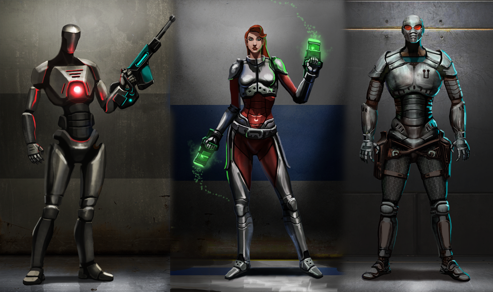 Character Design Unreal Engine 4 : First unreal tournament concepts unveil new level and