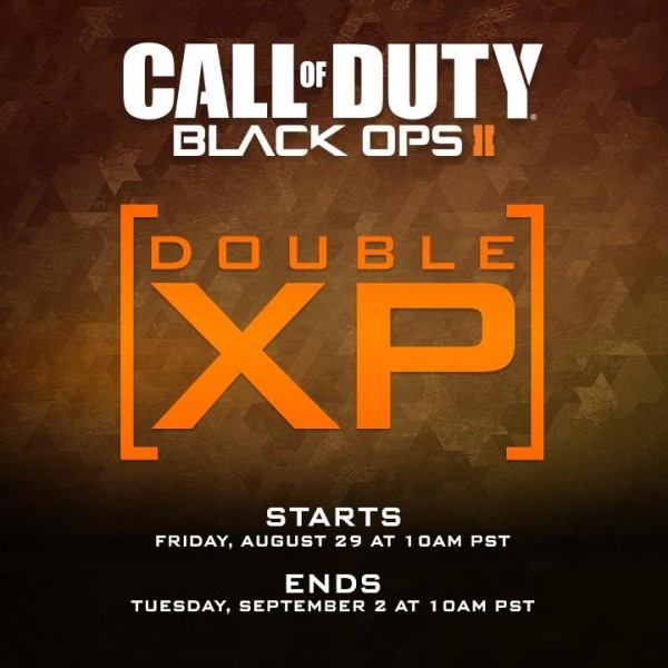, Call of Duty: Ghosts and Call of Duty: Black Ops 2 Double XP Starts This Weekend, MP1st, MP1st