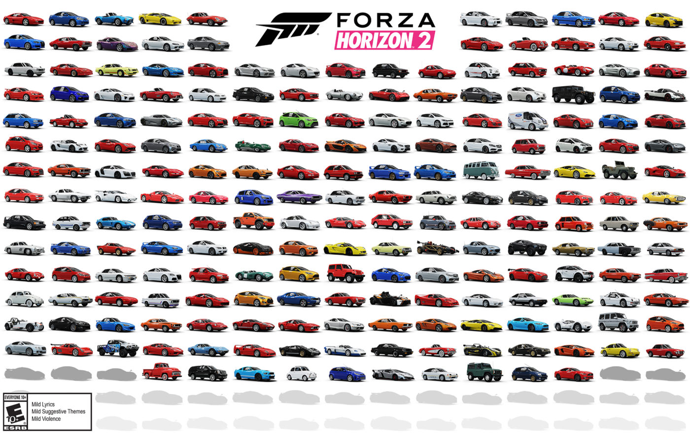 Forza Horizon S Final Car Lineup Boasts Modern And Classic