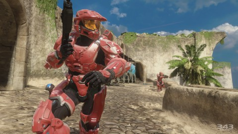 New The Master Chief Collection Gameplay and Screens Show Off Halo 2 Anniversary's Zanzibar Remake