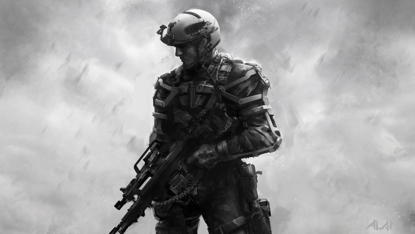 Early Call Of Duty Advanced Warfare Concept Art Tells The Story