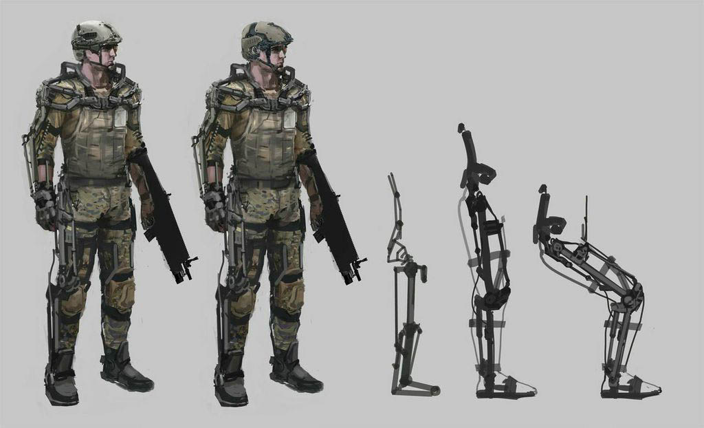 Early Call Of Duty Advanced Warfare Concept Art Tells The