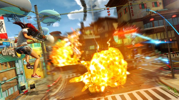 , Sunset Overdrive Review – Insomniac's Jump to Microsoft Pays Off Big, MP1st, MP1st