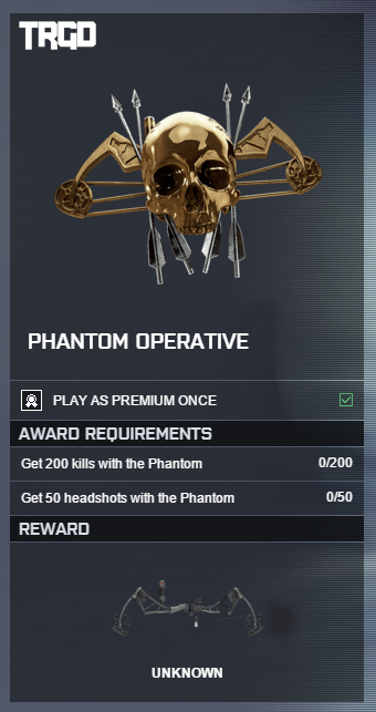 Dead Stop Assignment Bf4 Emblems  Phantom Operative Impossible to
