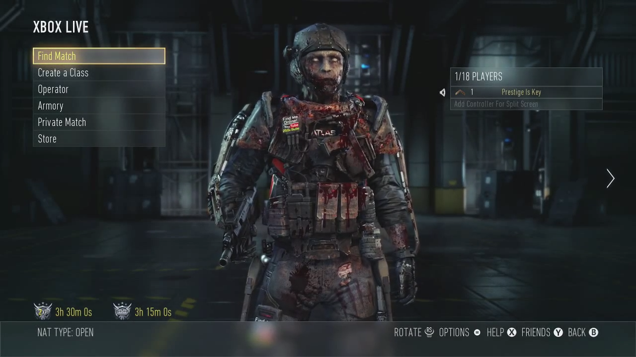 Play As A Zombie In Advanced Warfare Multiplayer Full Exo Survival Zombie Round And Cutscene Mp1st