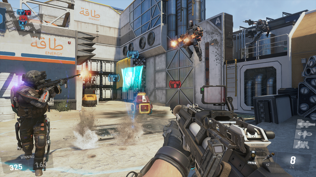 Cod Advanced Warfare Gun Game Weapon List Spotted In Game Code Mp1st