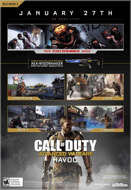 , New COD: Advanced Warfare Havoc Map Pack Details Emerge, Map Names and Release Date Revealed, MP1st, MP1st