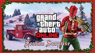 "Grand Theft Auto V's ""Festive Surprise"" Update Brings Snow, Gifts, And New Items To GTA Online"