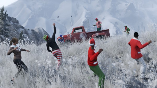 ", Grand Theft Auto V's ""Festive Surprise"" Update Brings Snow, Gifts, And New Items To GTA Online, MP1st, MP1st"
