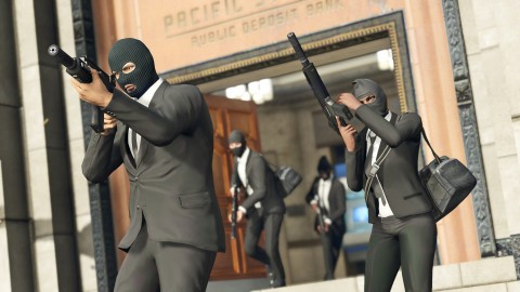 GTA Online – New Modes And Content Launching Next Week, Heist Teaser Released