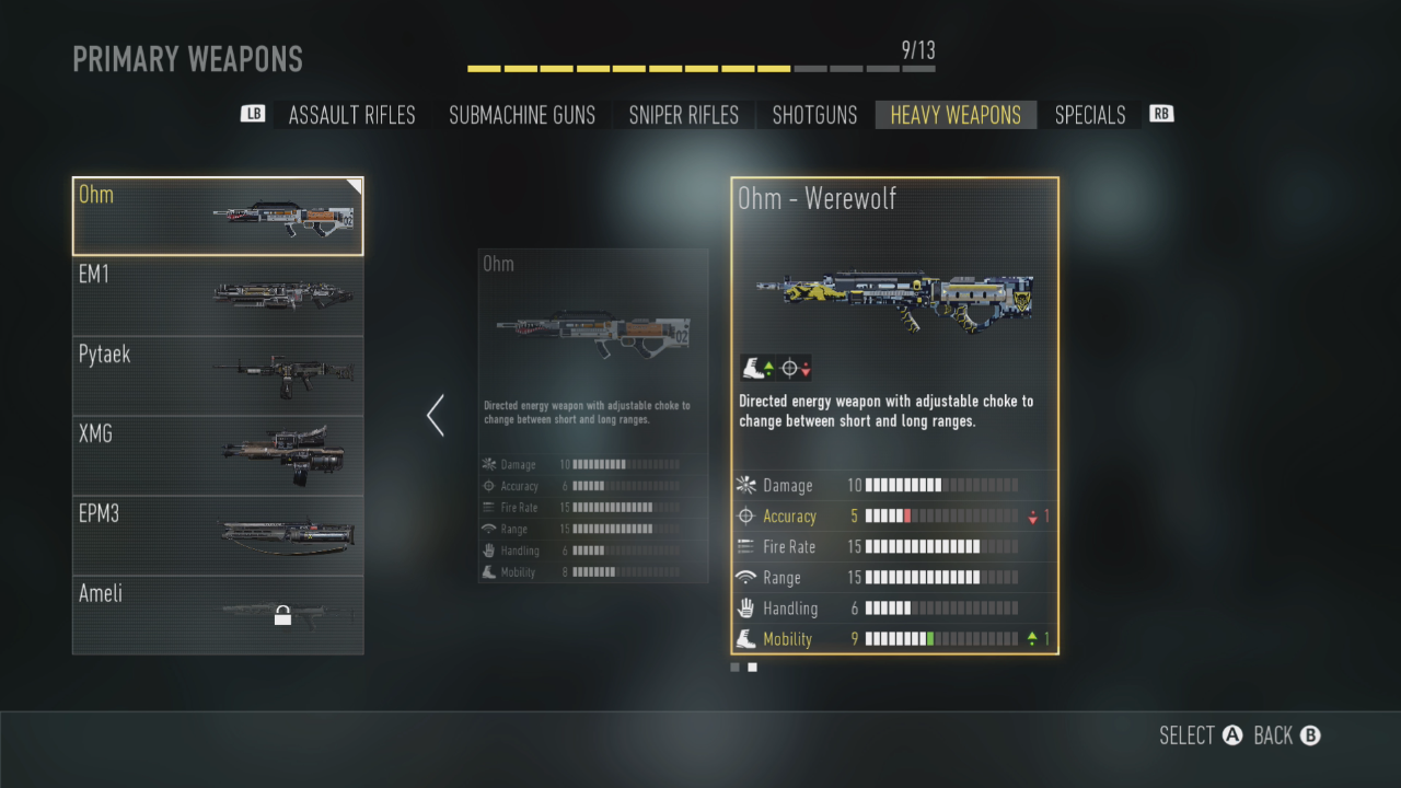 Advanced Warfare Update Adds Master Prestige Levels And Early Access To New Ohm Heavy Weapon Mp1st