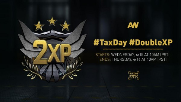", Call of Duty: Advanced Warfare Gets ""Tax Day"" Double XP, Now Live, MP1st, MP1st"